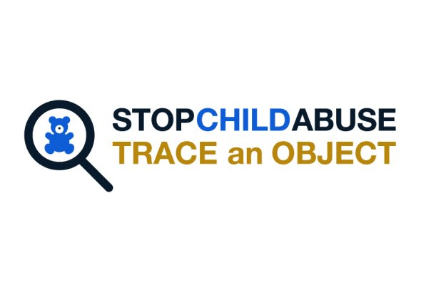 Stop Child Abuse Trace an Object Logo